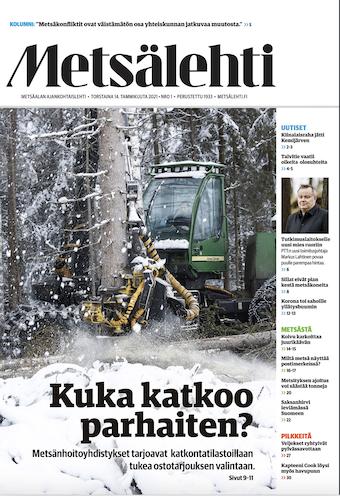 Metsäverotus 2021